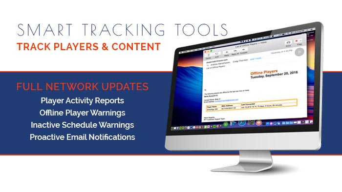 Smart tracking tools to track player and content